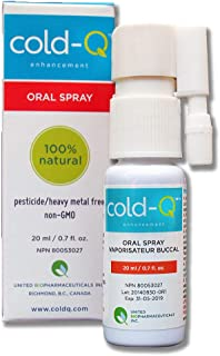 cold-Q/natural cold remedy/shortens the duration/immune enhancing/safe medicinal herbs designed to help your body fight off a common cold / 0.7 fluid ounce mouth spray