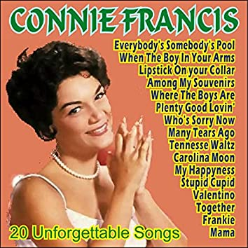Connie Francis - 20 Unforgettable Songs