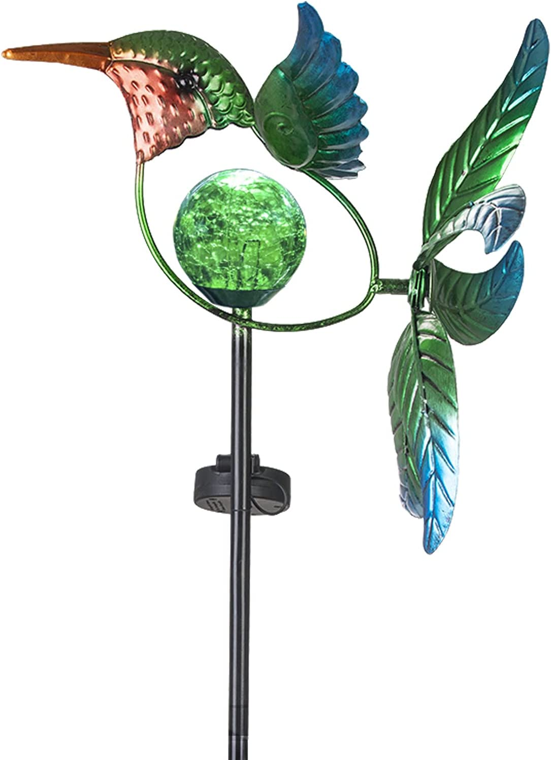 VEWOGARDEN Solar Wind Max 63% OFF Spinner Decorations Yard Max 51% OFF Hummingbird Art