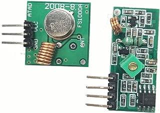 HiLetgo 315Mhz RF Transmitter and Receiver Module link kit for Arduino/ARM/MCU/Raspberry pi