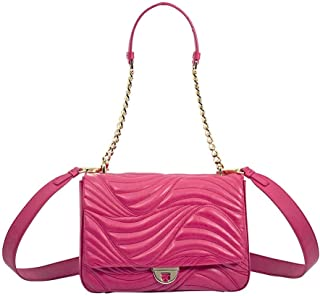 Salvatore Ferragamo Lexi Quilted Leather Shoulder Bag- Begonia