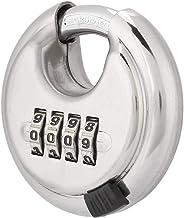Veel voorkomende sloten 4 cijfers combinatie gecodeerde slot keyless veiligheid roestvrij staal ronde wachtwoord hangslot ...