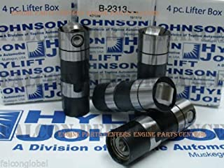 Harley Twin Cam Tappets Lifters USA-made genuine Hylift JOHNSON 1999-up set/4 (std)