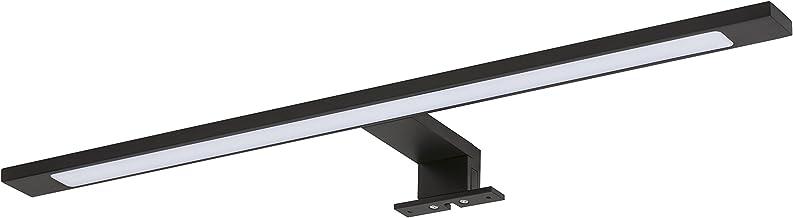 Tiger Ancis LED Spiegelverlichting, Metaal, Zwart, 60 x 3,9 x 11 Cm