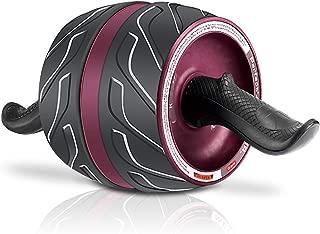 腹筋ローラー 進化版 アブホイール エクササイズローラー エクササイズウィル 超静音 スリムトレーナー 取り付け簡単 自宅用旅行用 膝マット付き