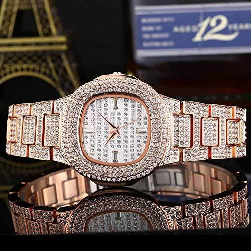 Relojes para Hombres Bussiness Reloj de Cuarzo Famoso Marca Diamante Reloj de Acero Inoxidable Solar Silver Silver Gold Reloj Color Diseñador Reloj Majestado Despacho de Venta de Relojes para Hombre
