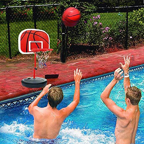 MICROFIRE Poolside Basketball Game PoolSport Pool Basketball Hoop