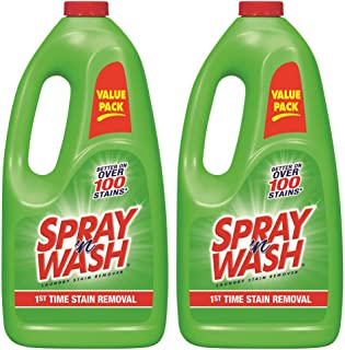 Spray 'N Wash Pre Treat Laundry Stain Remover Refill, 60 oz (Pack of 2)