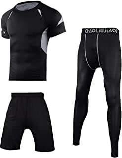 Men Sportswear Compression Sport Suits Sports Training Gym Fitness Tracksuits Running Set
