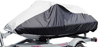 "Budge Deluxe Jet Ski Cover Fits Jet Skis 121"" to 135"" Long, Black/Gray, Fits Jet skis 121"" to 135"" - 4 Stroke (BA231212015)"