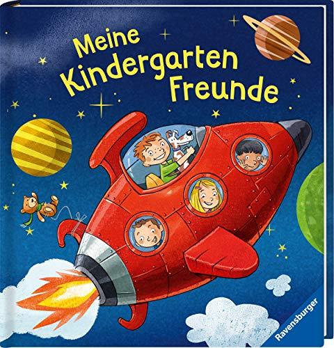 Meine Kindergartenfreunde: Weltraum (Freundebuch)
