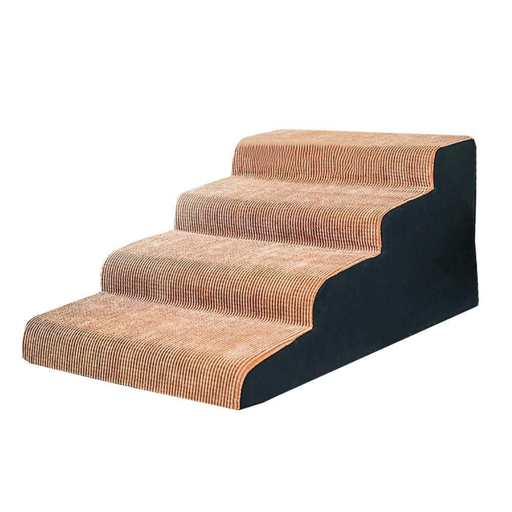Escalera para Perro Escaleras for Mascotas de 2/3/4 peldaños - Perro y Gato Subiendo Mayores, Cachorros Arriba y Abajo Escaleras Antideslizantes (Size : 4 Layers 50×90×45cm): Amazon.es: Hogar