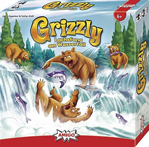 AMIGO Spiel + Freizeit 01954 Grizzly - Familienspiel