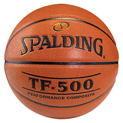 Spalding Unisex-Adult Tf500 Indoor Sz.7 Basketball, orange, 7