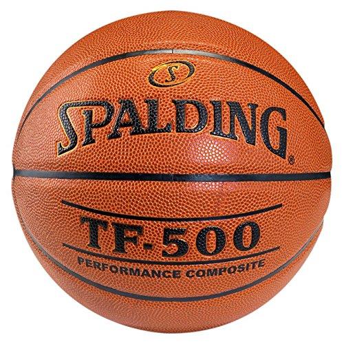 Spalding Tf500 In/out Sz.7 (74-529Z) Balón de Baloncesto, Unisex Adulto, Naranja, 7