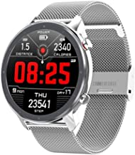 Smart Watch Heren Dames ECG SmartWatch Hartslagmeter Volledige ronde aanraking Smart Watch IP68 Fitness Tracker-armband