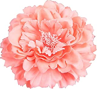 Women's Bohemia Peony Flowers Hairpin Hair Clip Flower Brooch
