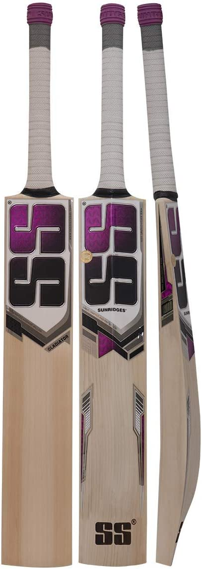 SS Gladiator Kashmir Willow Cricket Same day shipping High quality new Short Handle Bat