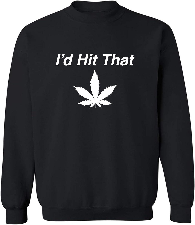 I'd Hit That Crewneck Sweatshirt