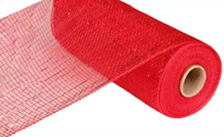Best red deco mesh Reviews