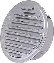 Roestvrijstalen buitenkant Muur Air Vent Grille Rond Ducing Ventilatie Roosters 70/80/18/120/150/160/180 / 200mm Air Vent...