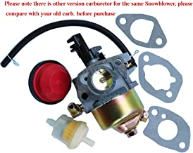 JXPARTS Carburetor Carb Type A for Ariens SNO-Tek ST24 920400 920402 208CC 24 in 2-Stage Snow Blower Thrower Snowblower Snowthrower