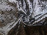 Brokatstoff Silber Stahlgrau BRO43[2] von The Yard
