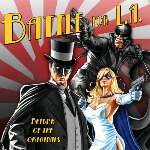 Battle for LA audiobook cover art