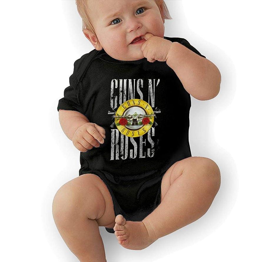TERESAWATKINS Guns N' Roses Unisex Baby Boys' Girls' Bodysuit Toddler Creeping Suit
