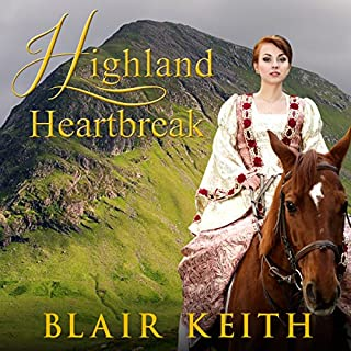 Highland Heartbreak audiobook cover art