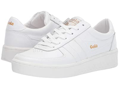 Gola Grandslam Leather (White/White/White) Women