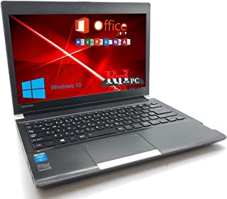 Microsoft Office 2019 Installed, English Laptop Computer, [DynaBook R734] Core i5 -4310M 2.70 GHz, Memory 4 GB, SSD 128 G...