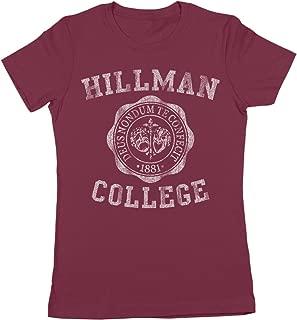 Hillman College University Emblem Womens Shirt