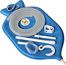 HealthGoodsIn – The Perfect Enema Bag Kit in Blue Color for Colon Cleansing with..