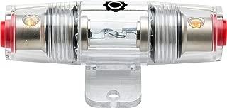 InstallGear 8/10 Gauge AWG In-Line AGU Fuse Holder with 80 Amp Fuse