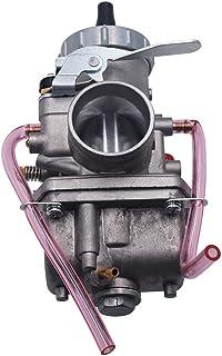 KKmoon VM22 Kit carburatore 26 mm per Mikuni Tubo di aspirazione Pit Dirt Bike 110 CC 125 CC 140 CC Lifan YX Argento