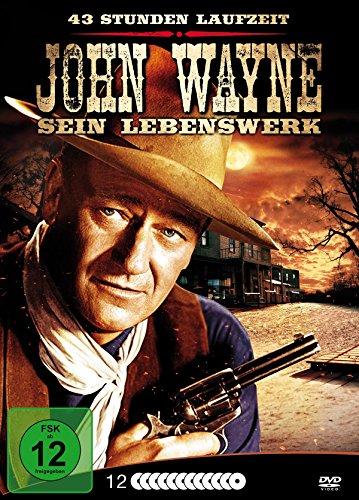 John Wayne - Sein Lebenswerk [Metallbox mit 12 DVDs]