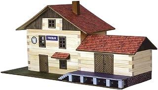 Walachia 8594036430365 järnvägsbyggnader fackverk trä modellbyggnad modellbana spår 1/LGB 1:32