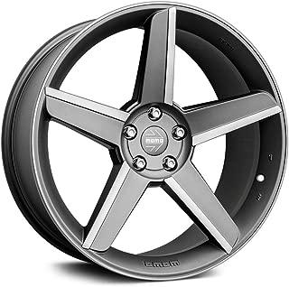Momo Stealth Custom Wheel Matte - Matte Anthracite with Diamond Cut Rims - 20