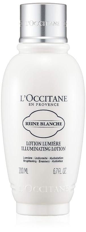リスキーな取るに足らない掘るロクシタン(L'OCCITANE) レーヌブランシュ ブライトフェイスウォーター 200ml