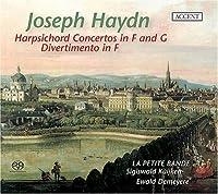 Harpsichord Concerto in G Major & F Major by J. Haydn (2008-01-29)
