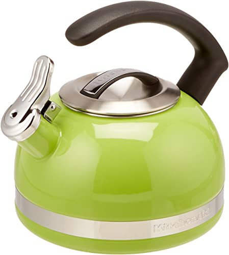 new arrival KitchenAid discount 2.0-Quart Kettle with C Handle and Trim Band discount - Sunkissed Lime outlet online sale