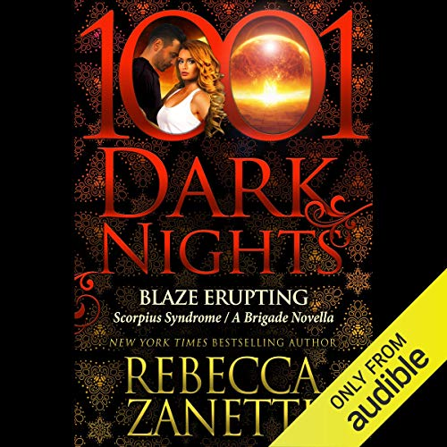Blaze Erupting audiobook cover art