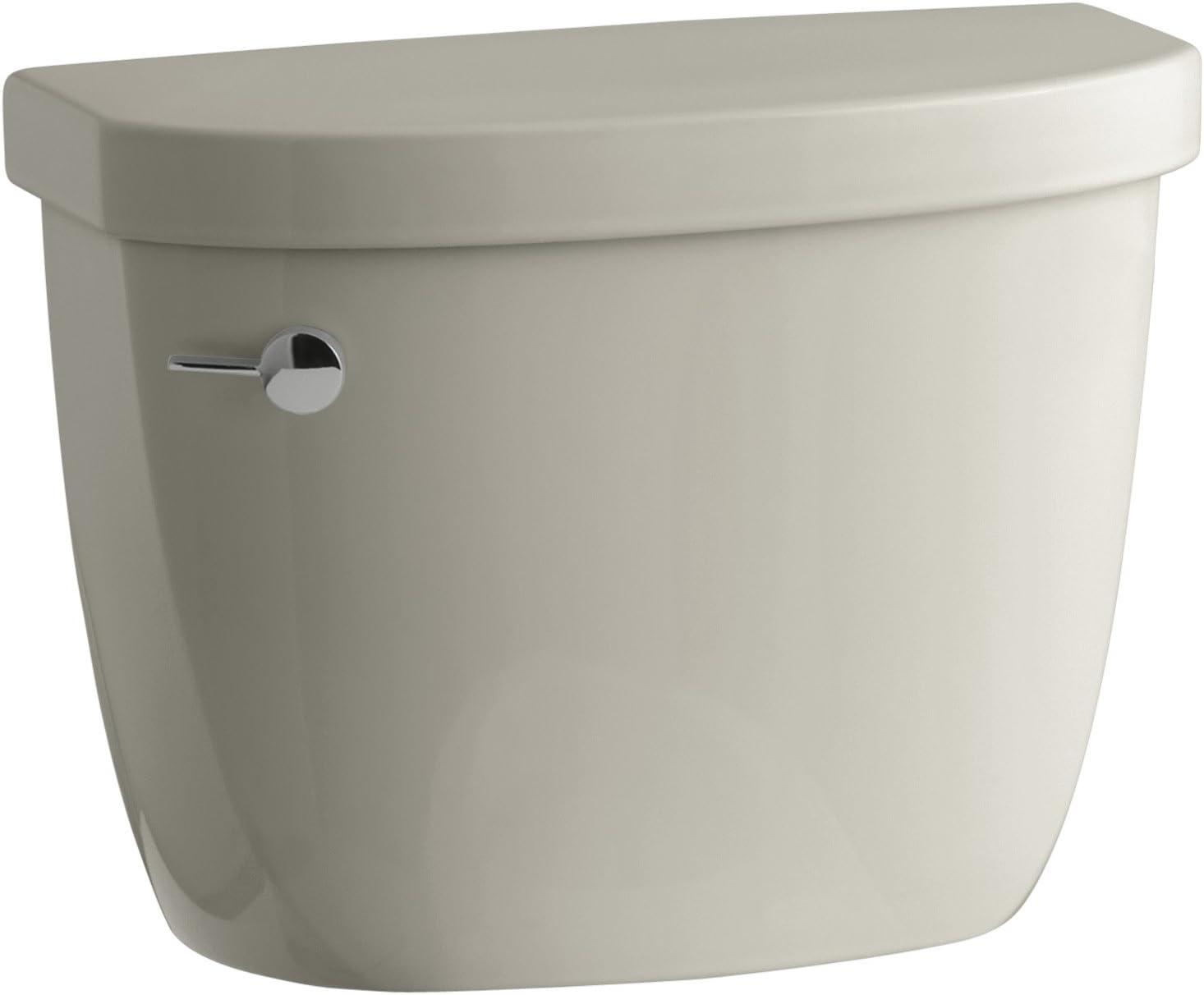 High quality Kohler K-4421-G9 Industry No. 1 Cimarron 1.28 gpf Toilet Tank Six Sandba Class