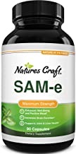 Pure SAM-E Nootropic Brain Supplement - Natural Brain Booster From Mood Support S Adenosyl Methionine - SAM...
