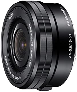 Sony SELP1650 E Mount - APS-C 16-50mm F3.5-5.6 Zoom Lens