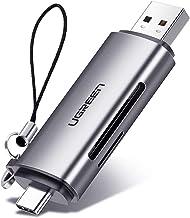 UGREEN USB C Kartenleser Aluminum SD Kartenleser USB 3.0 Micro SD Kartenlesegerät SD Card Reader Speicherkartenleser USB ...
