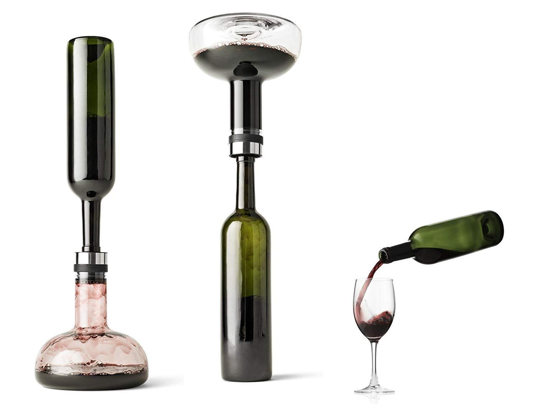 ZTKBG Decantador de Vino: el purificador de Agua de Cristal 100 ...