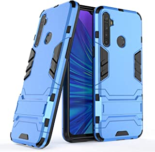 Realme 5i (Realme 6i) Hybrid Case, Realme 5i (Realme 6i) Shockproof Case, Dual Layer Protection Hybrid Rugged Case Hard Sh...