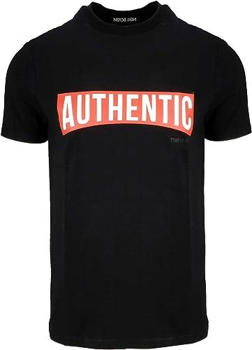 Neil Barrett Homme BJT455AH579S1495 Noir Coton T-Shirt
